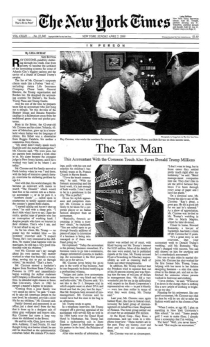 tax man ciccone trump article new york times
